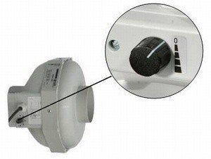Buisventilator met geïntegreerde snelheidsregelaar RKS