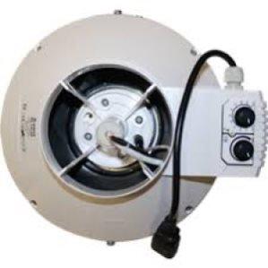Buisventilator met thermostaat en regelaar BKU