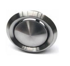 Afzuigventiel Ø 200mm 151-216m3 RVS incl. montage-ring