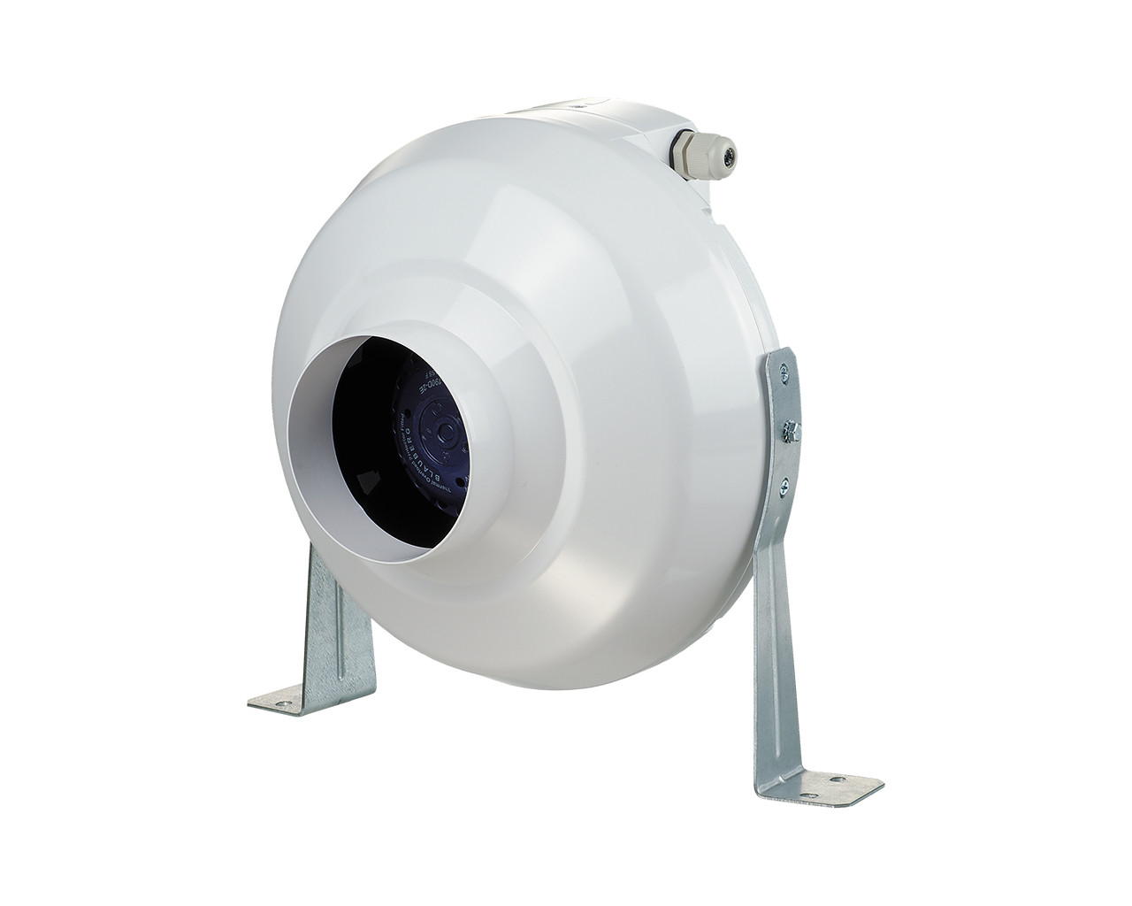 Kunststof Buisventilator 100mm Ø / 250m3/h (type) BK