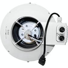 Buisventilator met thermostaat Ø 250mm 1080m3/h  BKU
