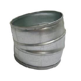 Bocht 15 graden voor spirobuis 125mm / ventilatiedeal