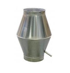 Deflectorkap  Ø 450mm