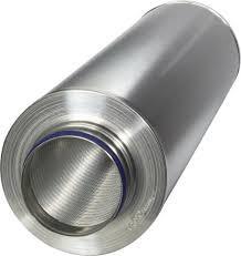 Geluiddemper voor spirobuis 355mm Ø L 1050mm ( Ruck )