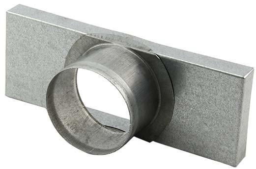 Instortkanaal Einddeksel 170mm x 70mm (Rechthoekig) Flens 80mm