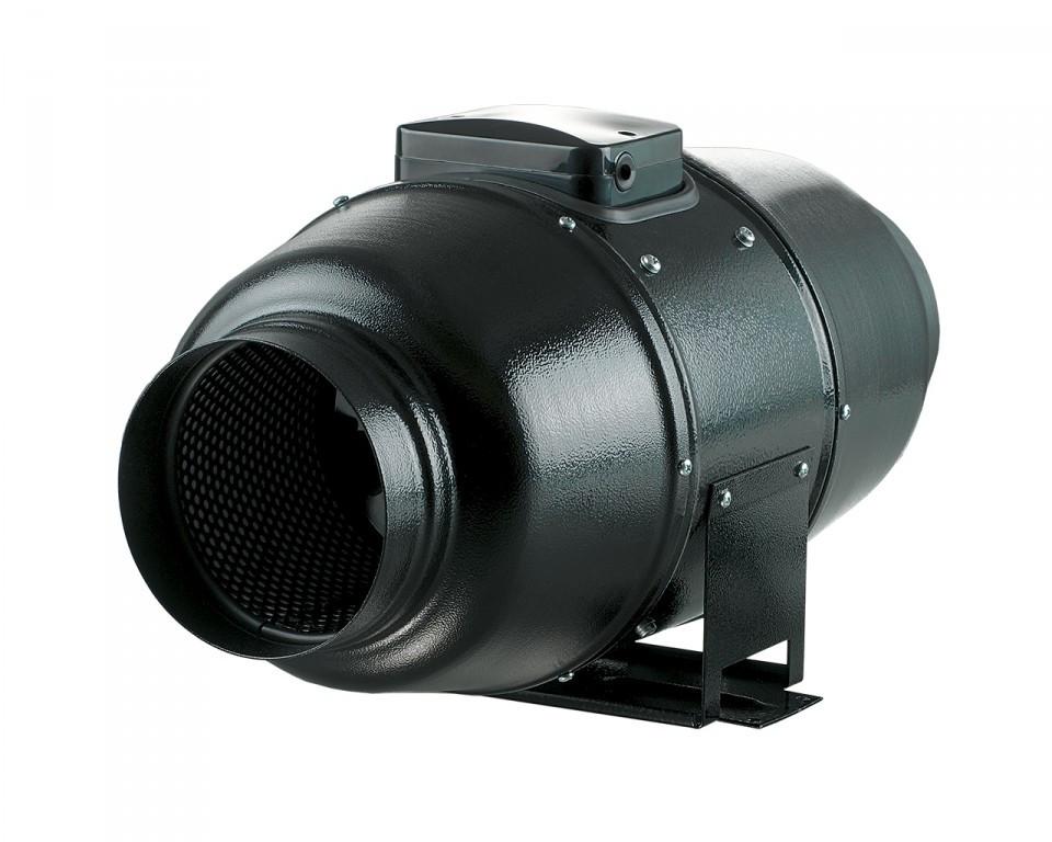 Stille Buisventilator 125mm Ø 230 / 340m3/h M