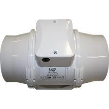 Buisventilator met timer Ø 125mm   220/280m3/h TTT