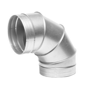 Spiro Bocht 90 graden 500mm Ø voor spirobuis