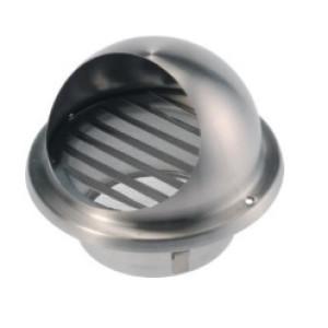 Bolrooster Rvs 150mm Ø | met gaas | 200m3