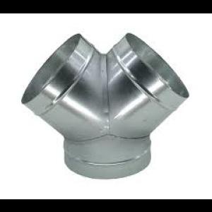 Broekstuk ( y-stuk ) voor spirobuis Ø 250mm -2x Ø160mm