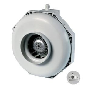 Can-Fan buisventilator RK LS 125 370m3/h 125mm met geïntegreerde snelheidsregelaar