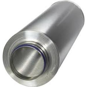 Geluiddemper voor spirobuis 160mm Ø L 1000mm ( Ruck )