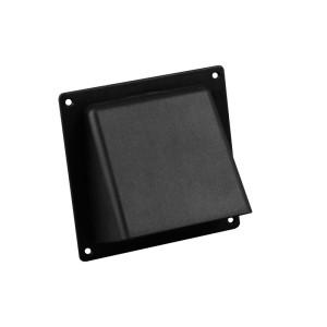Universele gevelklep Ø 100-125mm | 110X54mm | zwart