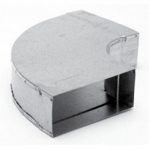 Instortbocht 60º Horizontaal 170mm x 70mm (Rechthoekig)