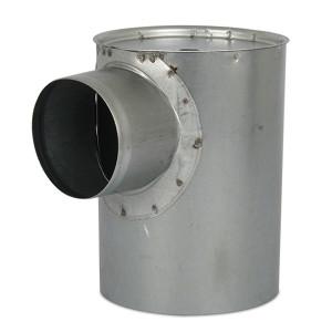 Instortpot Ø125mm, Hoogte - 80mm (onder de opening)