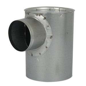 Instortpot (max) Ø150mm, Hoogte - ≤ 120mm (onder de opening)