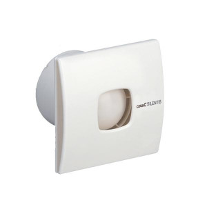 Stille badkamerventilator met timer Ø 120mm 190m3 Silentis