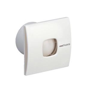 Stille badkamerventilator met timer Ø 150mm 320m3 Silentis