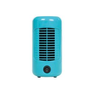 Tafelventilator retro - Ø 20 cm - blauw