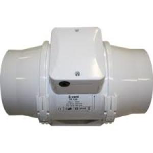 Buisventilator met timer Ø 125mm 285/345m3/h  S TTT